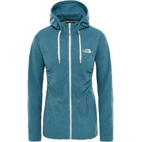 The North Face Mezzaluna Full Zip Hoodie Women storm blue stripe